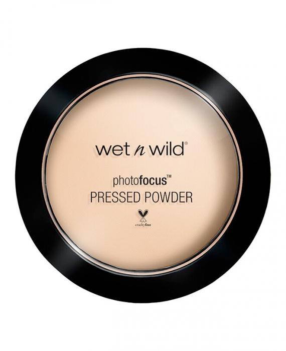 wet n wild kompaktný púder - Photo Focus Pressed Powder - Warm Light