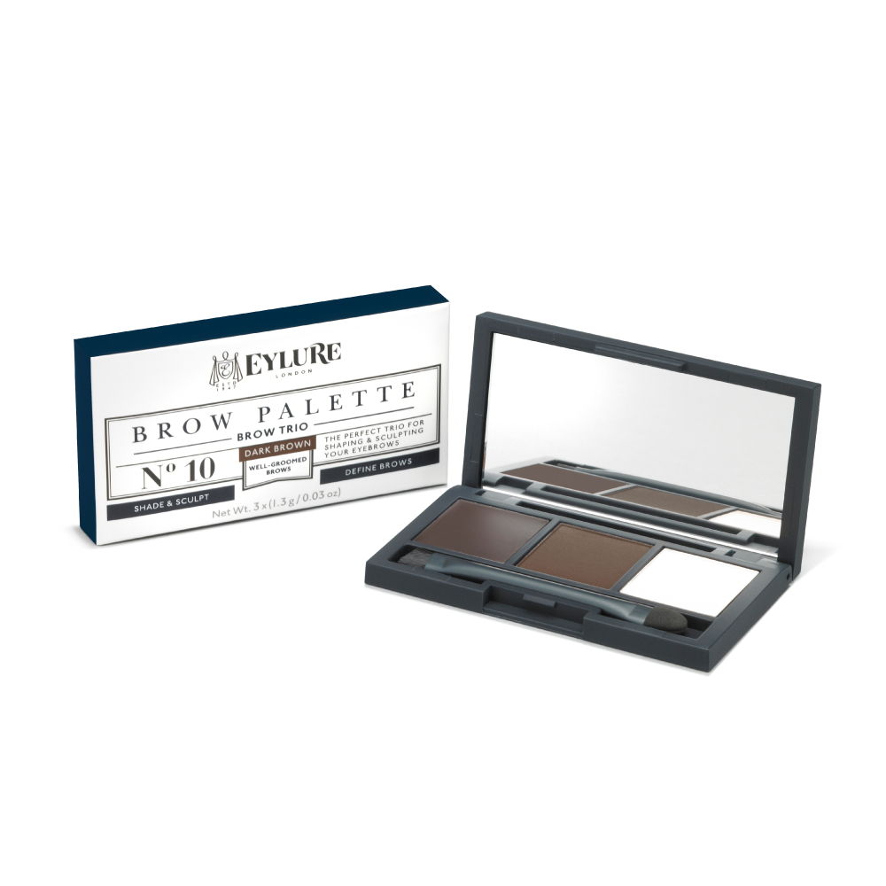 Eylure paleta za obrvi - Brow Palette - Dark Brown