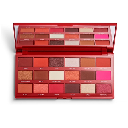 I Heart Revolution paleta sjenila - Red Velvet Chocolate Eyeshadow Palette