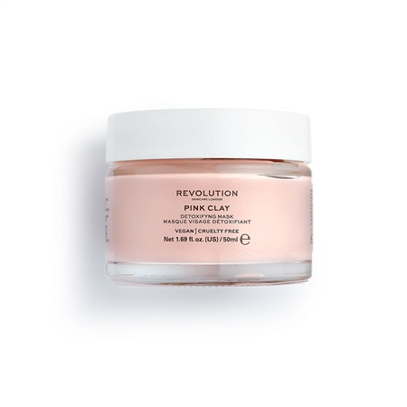 Revolution Skincare маска за лице - Pink Clay Detoxifying Face Mask
