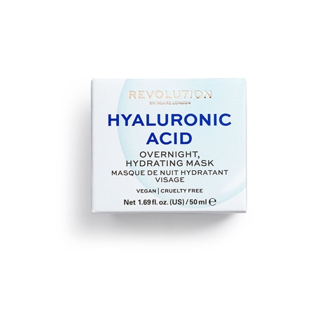 Revolution Skincare маска за лице - Hyaluronic Acid Overnight Hydrating Face Mask
