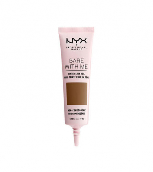 NYX Professional Makeup crema de fata colorata - Bare With Me Tinted Skin Veil - Deep Sable (BWMSV09)