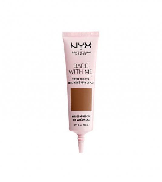 NYX Professional Makeup crema de fata colorata - Bare With Me Tinted Skin Veil - Deep Mocha (BWMSV10)