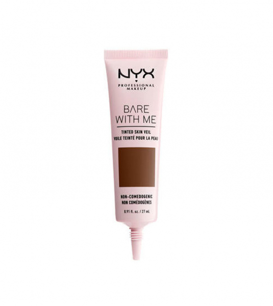 NYX Professional Makeup crema de fata colorata - Bare With Me Tinted Skin Veil - Deep Rich (BWMSV11)