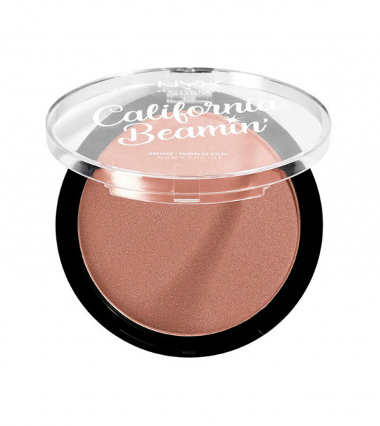 NYX Professional Makeup bronzant compact - California Beamin' Face & Body Bronzer - Free Spirit (CALIBB01)