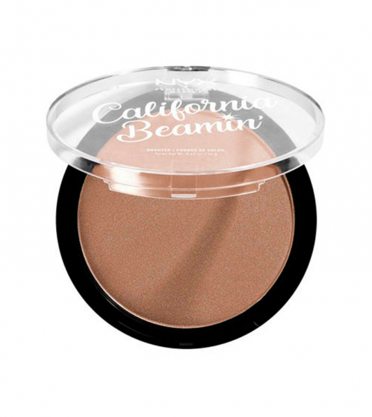 NYX Professional Makeup bronzant compact - California Beamin' Face & Body Bronzer - The Golden One (CALIBB02)