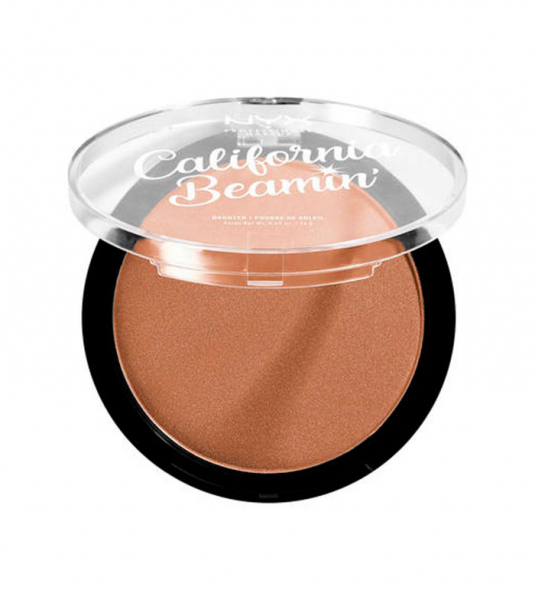 NYX Professional Makeup bronzant compact - California Beamin' Face & Body Bronzer - Sunset Vibes (CALIBB03)