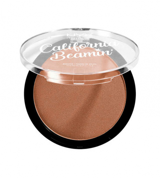NYX Professional Makeup bronzant compact - California Beamin' Face & Body Bronzer - Golden State (CALIBB04)