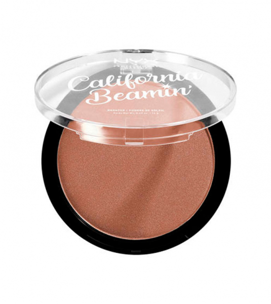 NYX Professional Makeup bronzant compact - California Beamin' Face & Body Bronzer - The OC (CALIBB05)