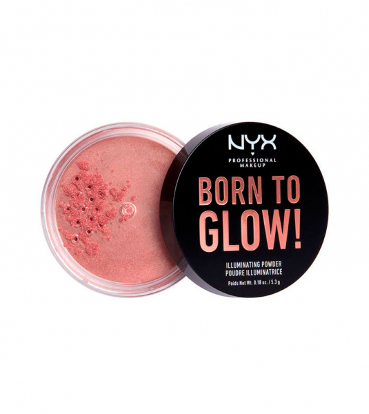 NYX Professional Makeup iluminator pulbere - Born To Glow! Illuminating Powder - Eternal Glow (BTGIP01)