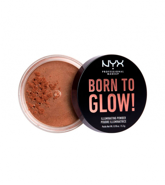 NYX Professional Makeup iluminator pulbere - Born To Glow! Illuminating Powder - Desert Night (BTGIP04)