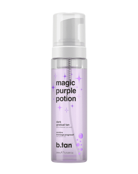 b.tan önbarnító hab - Magic Purple Potion - Dark Gradual Tan