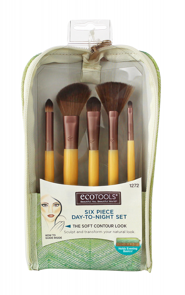 Eco Tools set čopičev - Day To Night Brush Set 1272