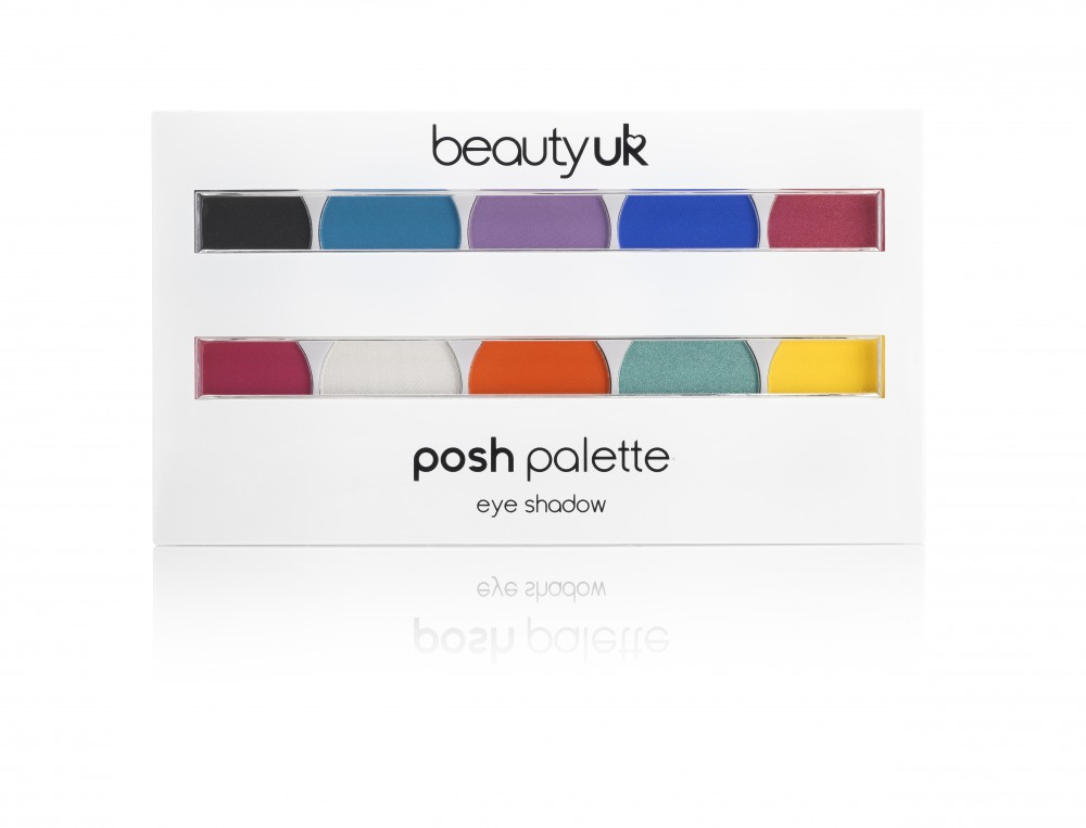 Beauty UK Posh szemhéjpúder paletta - Festival