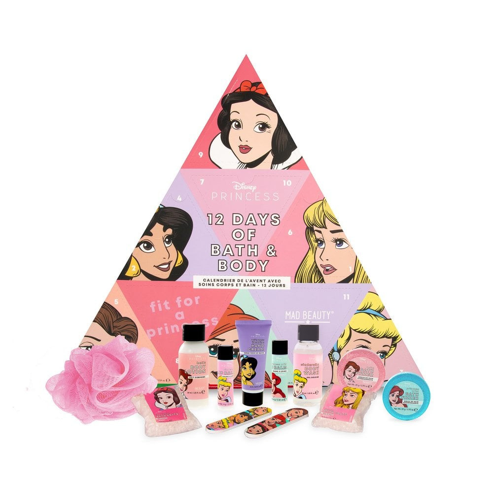 Mad Beauty Disney Princess 12 Day Advent Calendar adventi kalendárium