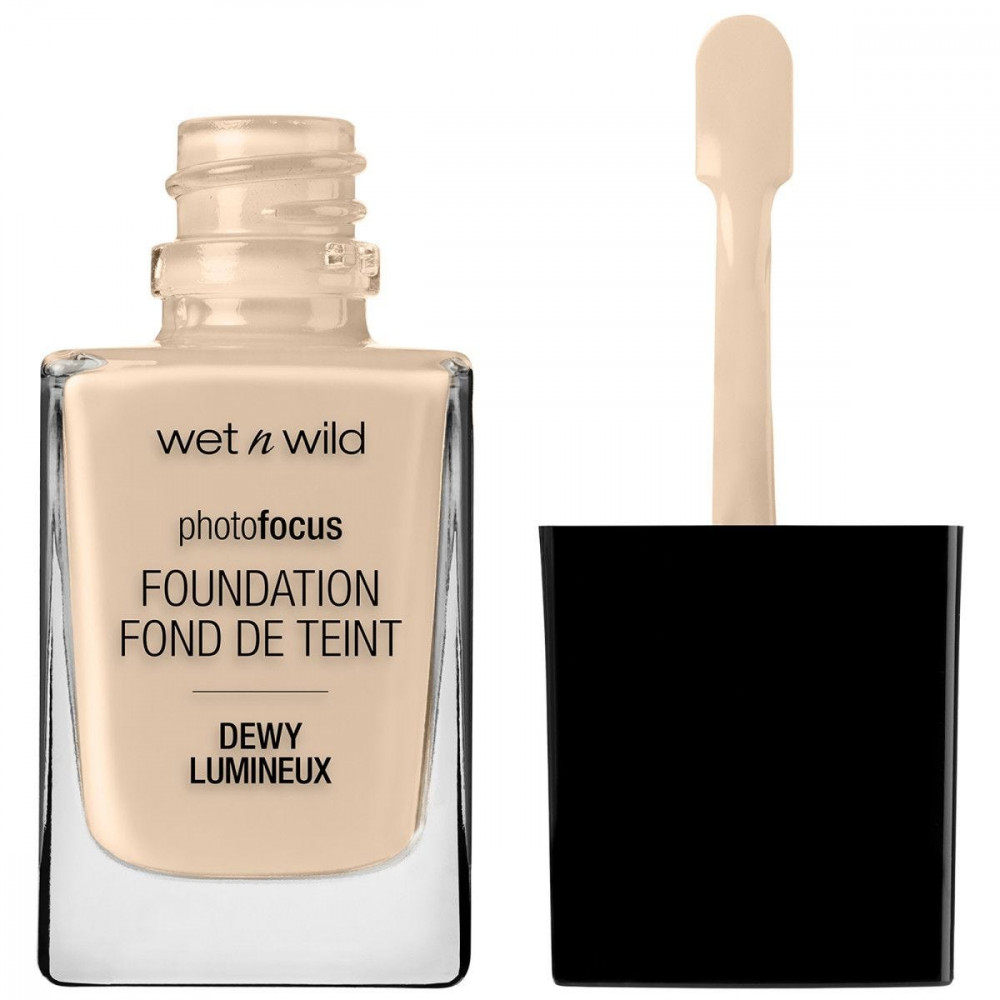 Wet n Wild Photo Focus Foundation Nude Ivory - Shop Face