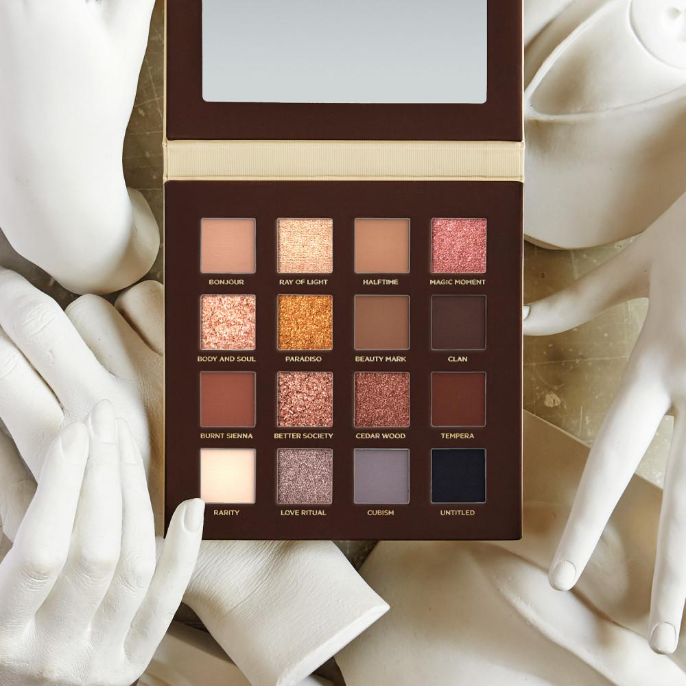 Nabla paleta de farduri - Side By Side Nude Eyeshadow