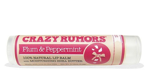 Crazy Rumors All Natural Lip Balm ajakbalzsam - Plum & Peppermint