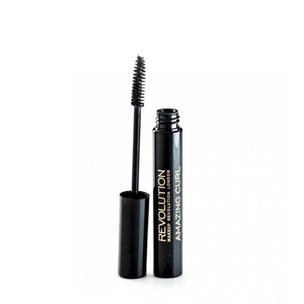 Makeup Revolution Mascara - Amazing Curl - Black