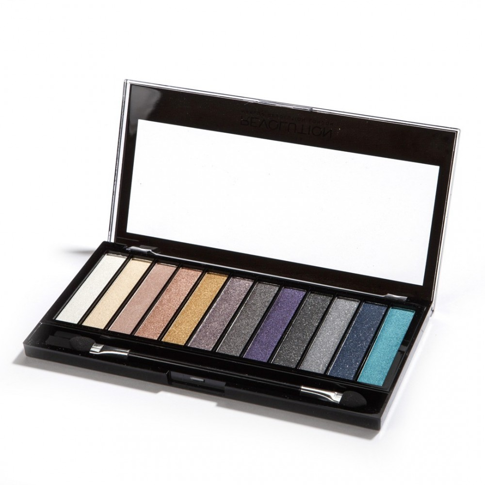 Makeup Revolution palette di ombretti Redemption - Essential Day to Night