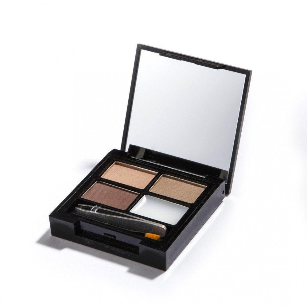 Revolution Augenbrauenpalette - Focus & Fix Brow Kit - Light Medium