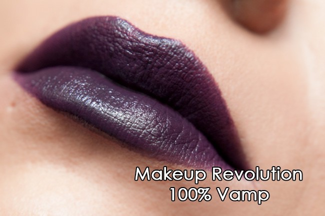 Revolution rúž - Vamp Collection - 100 % Vamp