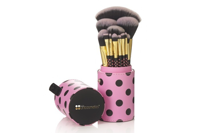 BH Cosmetics set di 11 pennelli - 11 Pcs Pink-A-Dot