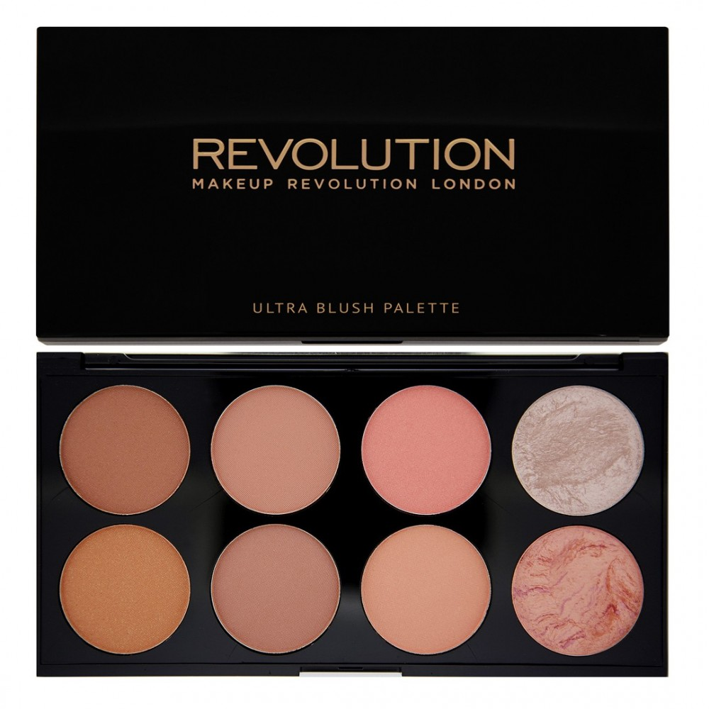 Revolution Ultra Blush paleta rumenila - Hot Spice