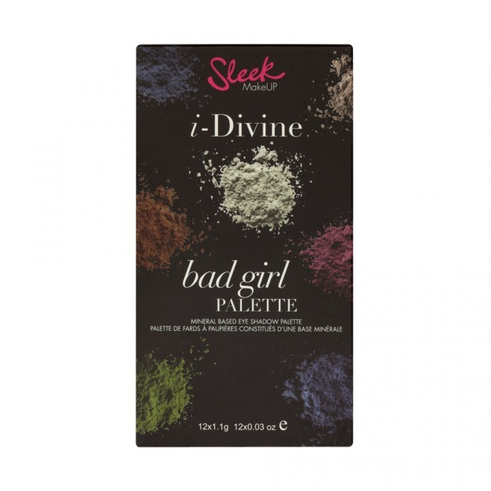 Sleek paleta sjenila - Bad Girl I - Divine