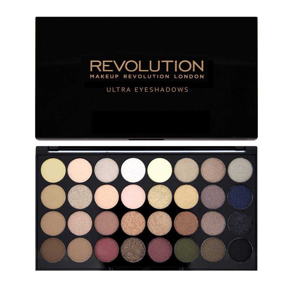 Paleta 32 farduri -Makeup Revolution Flawless