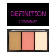 I Heart Makeup contour paletka - I Heart Definition - Fair
