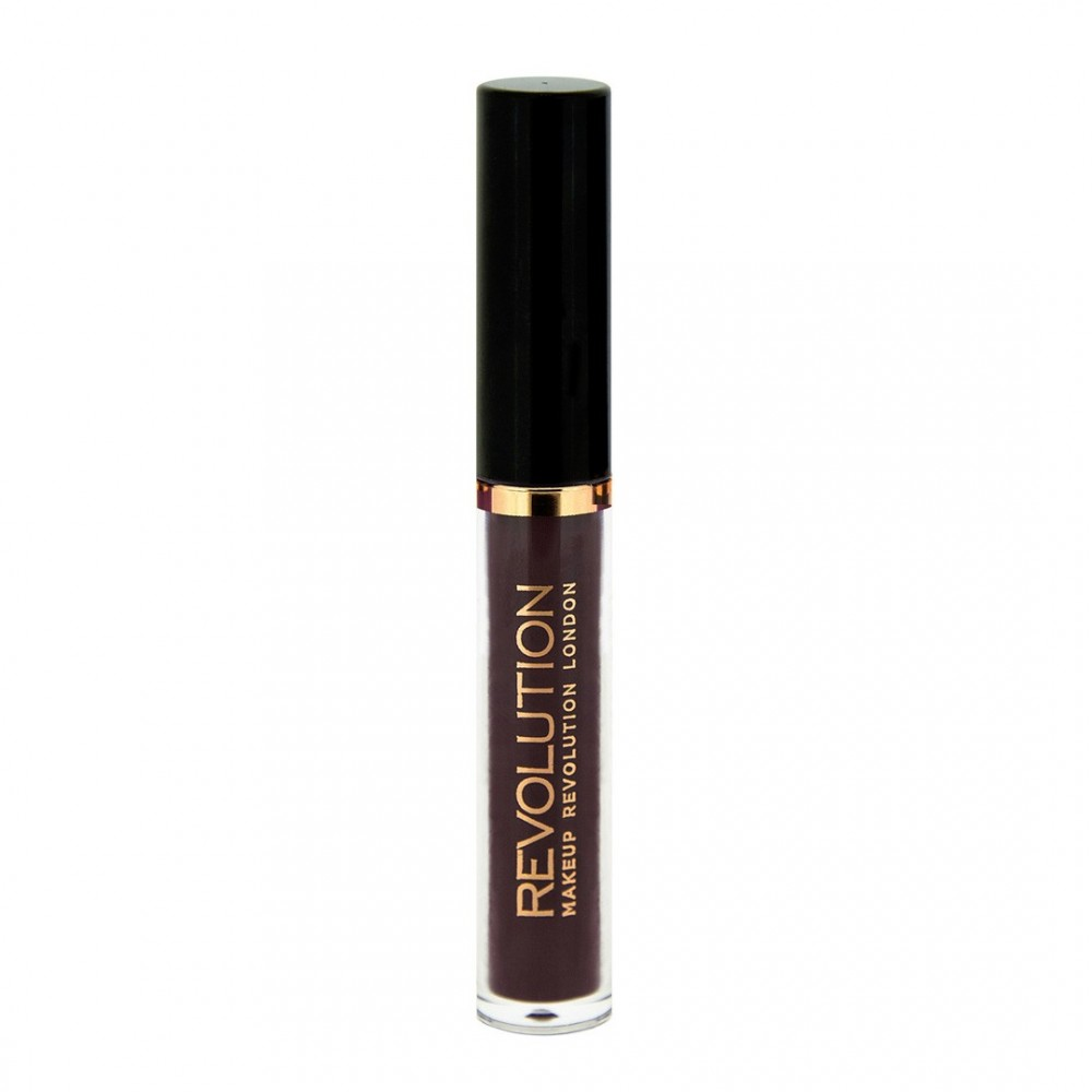 Makeup Revolution mat Salvation Velvet Lip Lacquer - Black Heart