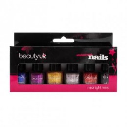 Beauty UK set di smalti - Midnight Minx