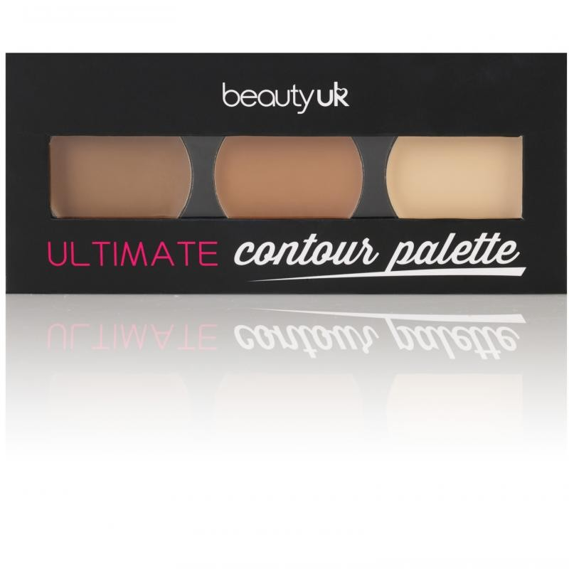 Beauty UK paleta za senčenje obraza - Ultimate Contour Palette