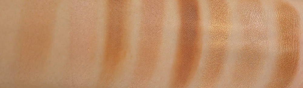 Revolution paleta bronzerjev - Blush and Contour Palette - All About Bronzed