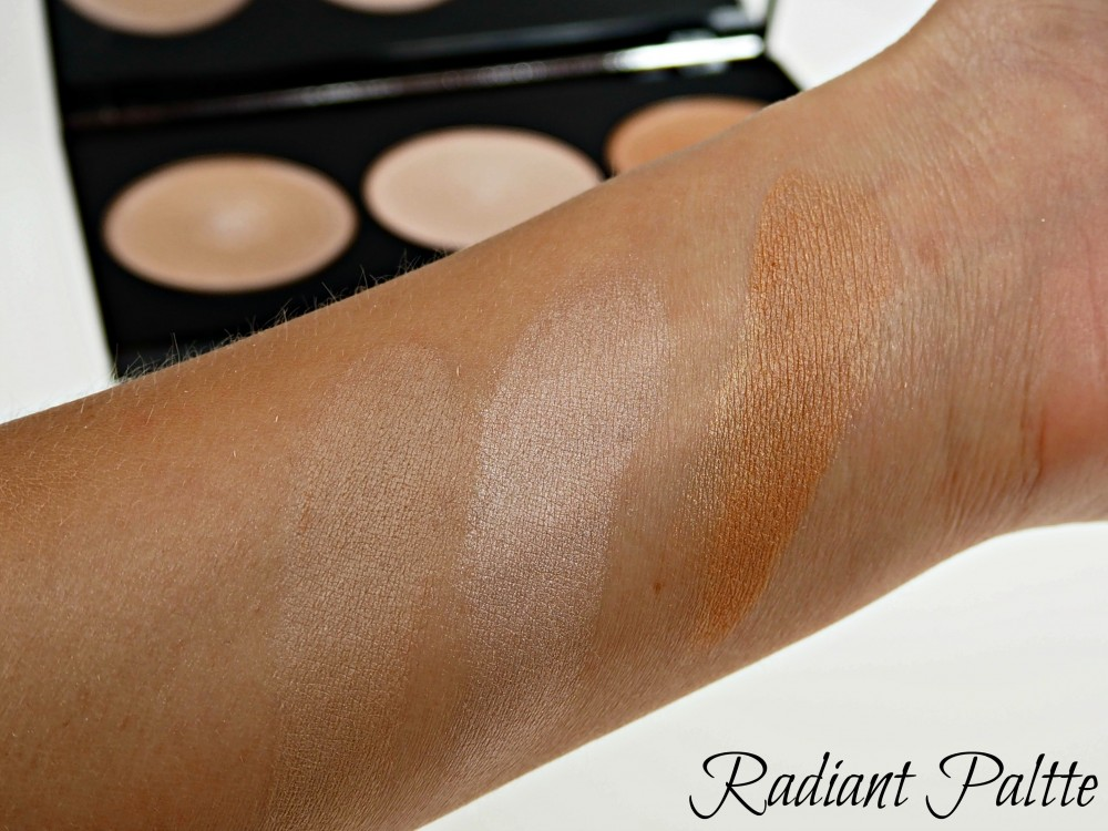 Makeup Revolution paleta - Radiance