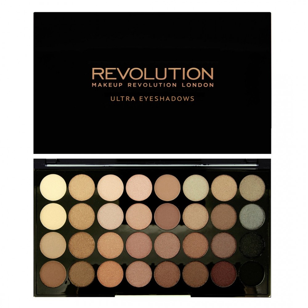 Makeup Revolution palette di 32 ombretti - Beyond Flawless