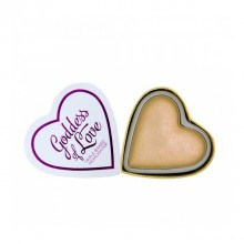 I Heart Makeup osvetljevalec - Hearts Highlighter - Golden Goddess