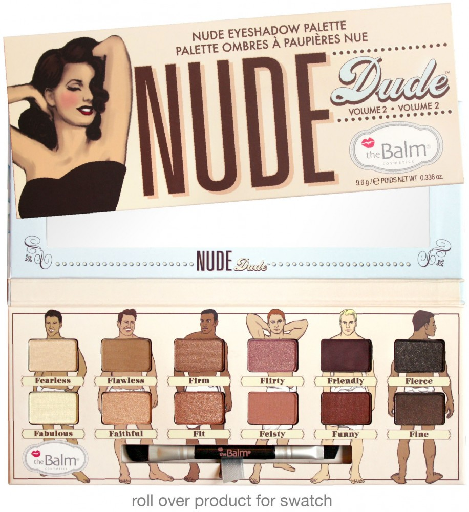 The Balm Lidschattenpalette - Nude Dude Volume 2
