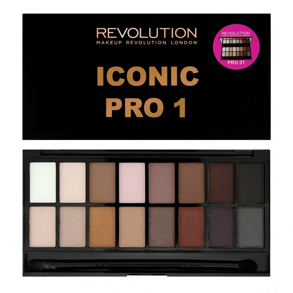 Makeup Revolution palette di ombretti Salvation - Iconic Pro 1
