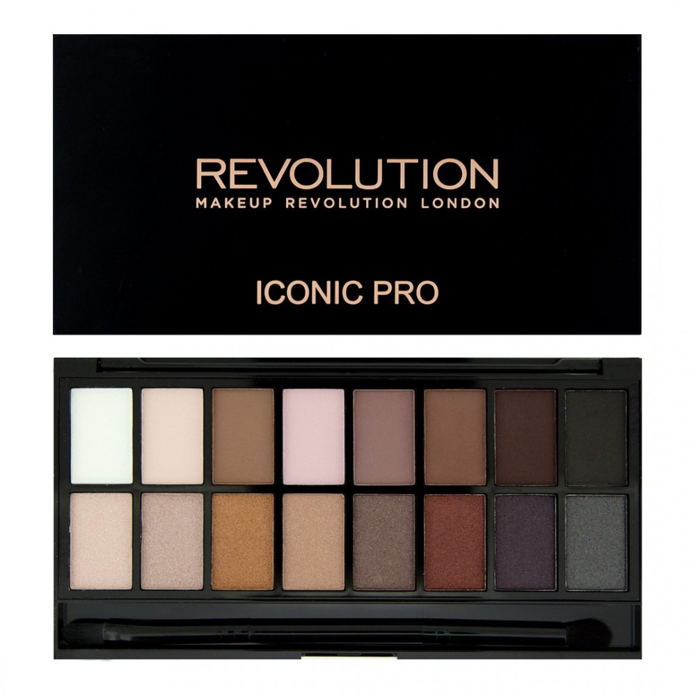Makeup Revolution Salvation paleta očných tieňov - Iconic Pro 1