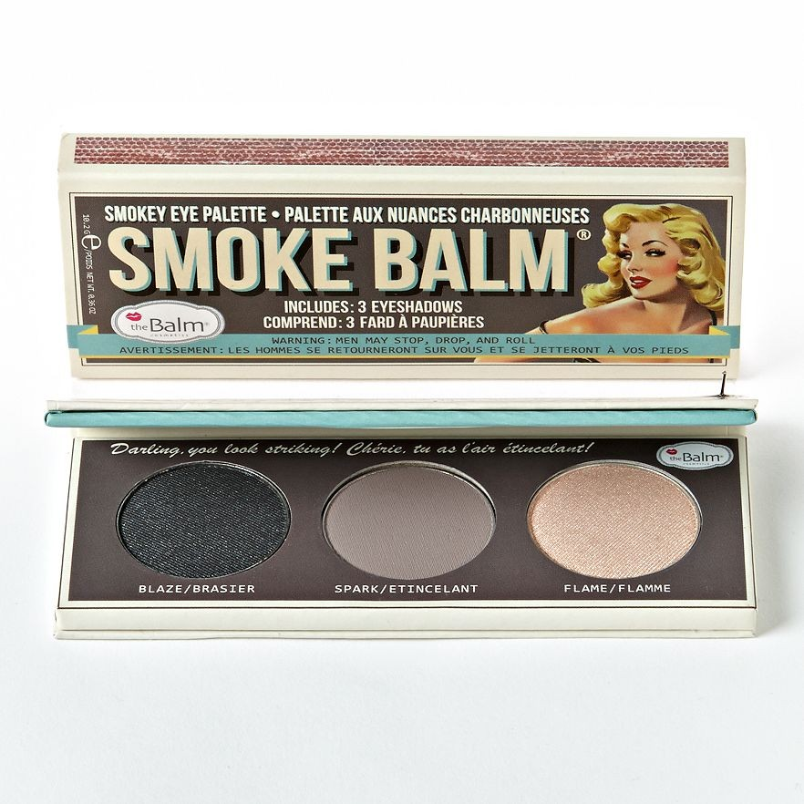 The Balm Lidschattenpalette - Smoke Balm #1 (brown box)