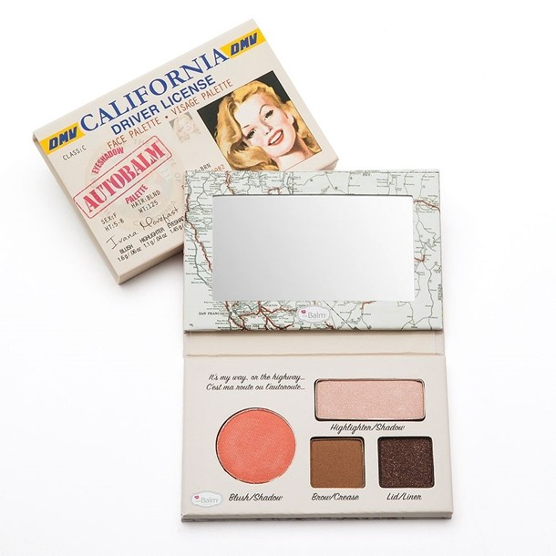 The Balm Palette Autobalm - California