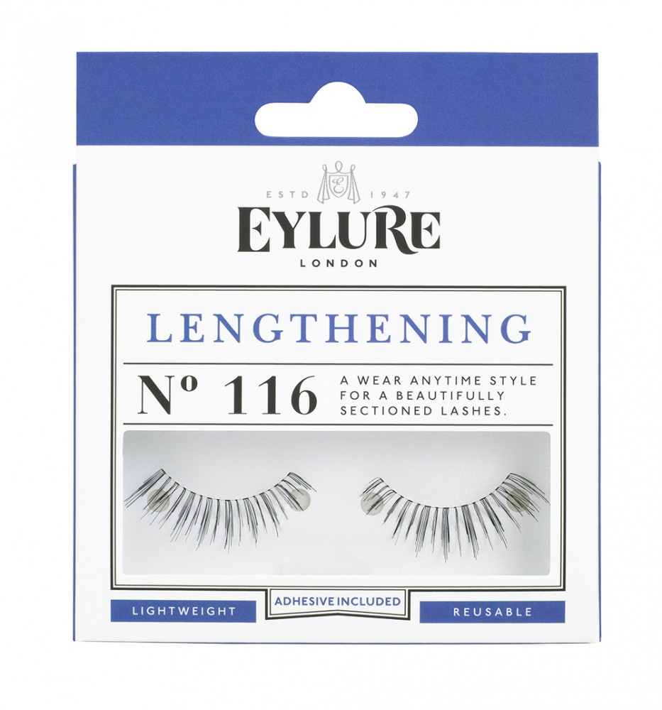 Eylure falsche Wimpern - Lengthening N.116 (adh)