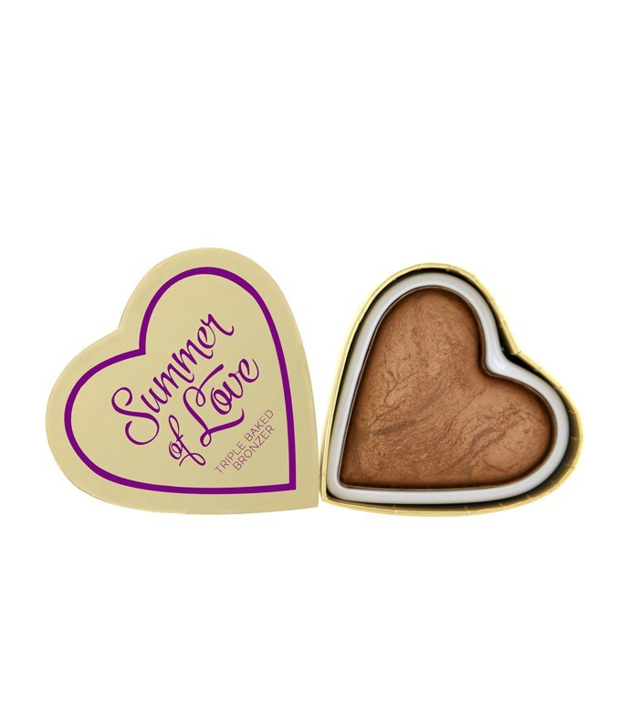 I Heart Makeup bronzer - Hearts Bronzer - Love Hot Summer
