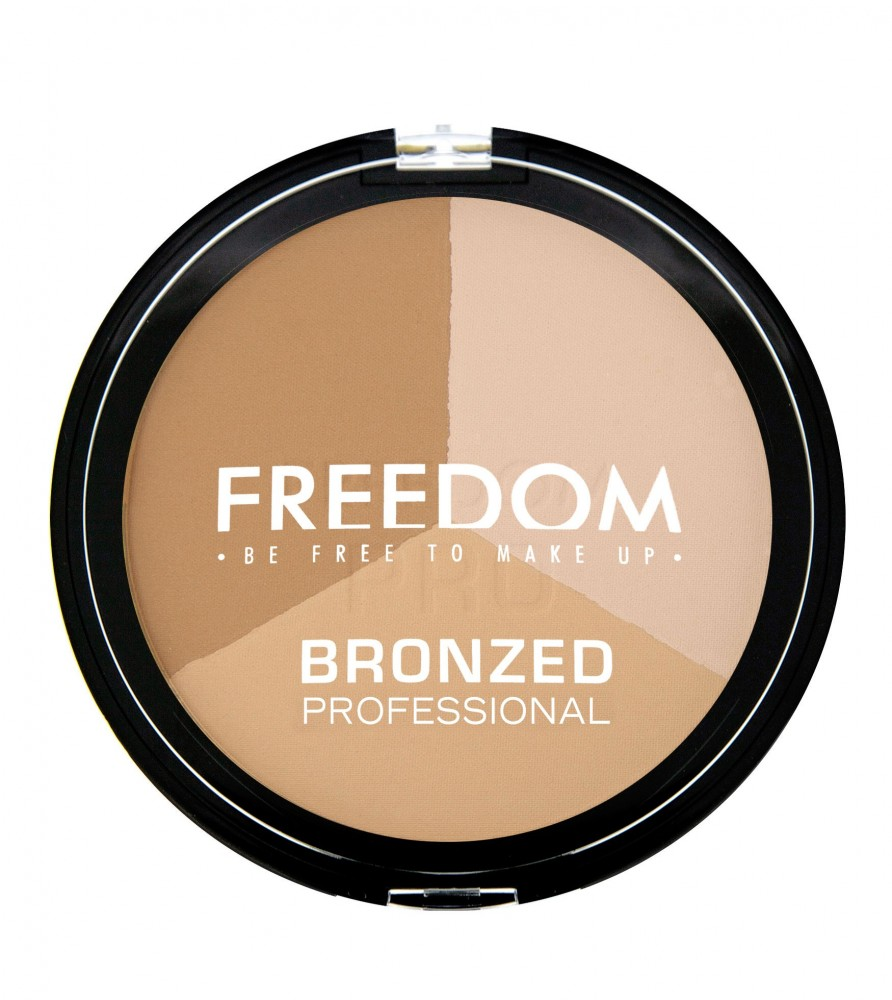 Freedom Makeup bronzer - Bronzed Professional Pro - Warm Lights