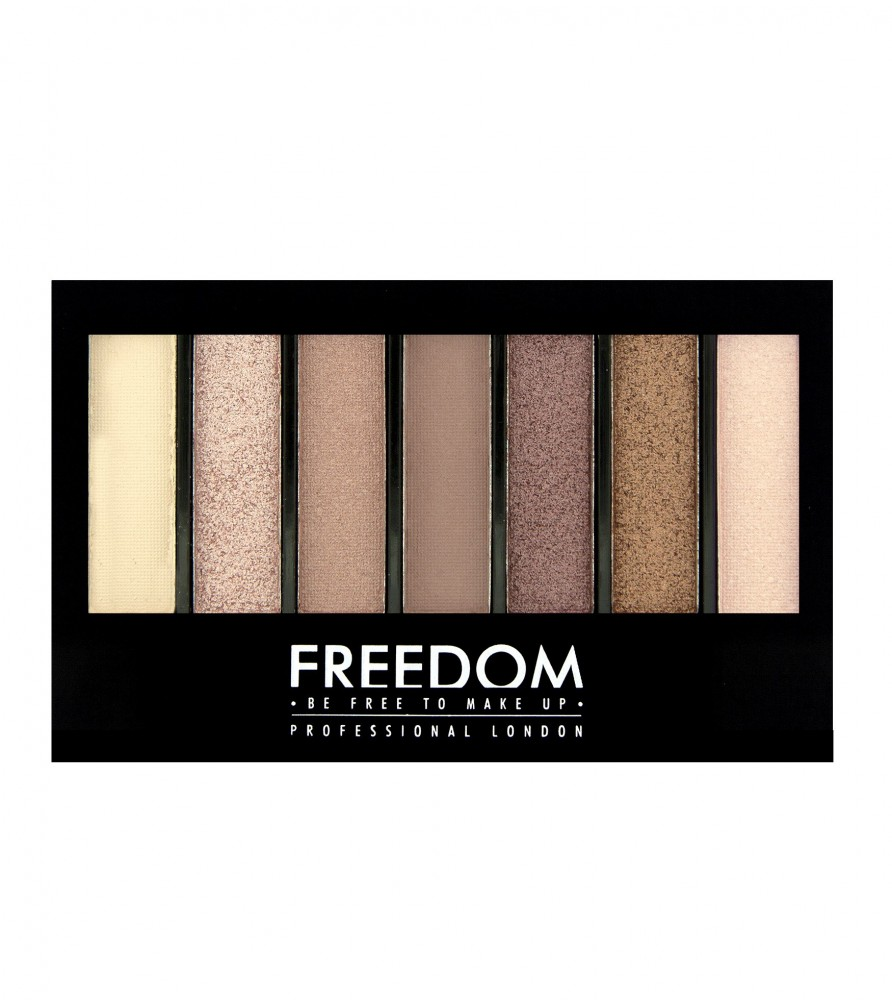 Freedom Makeup paleta sjenila i highlightera - Pro Shade & Brighten Stunning Rose Kit