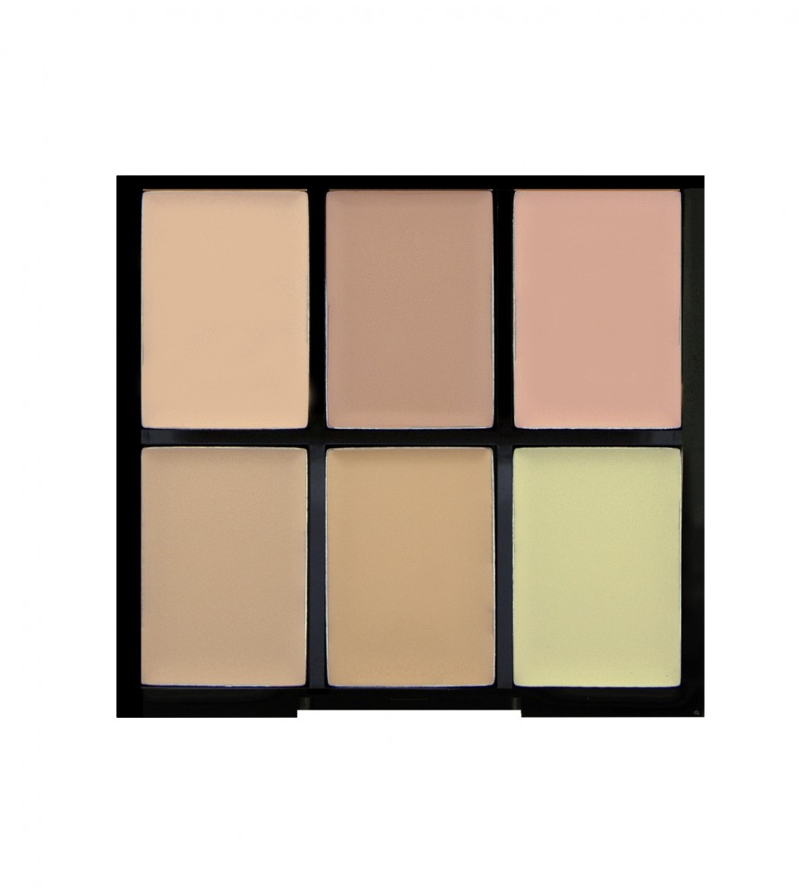 Freedom Makeup paleta korektora - Pro Conceal Palette Light