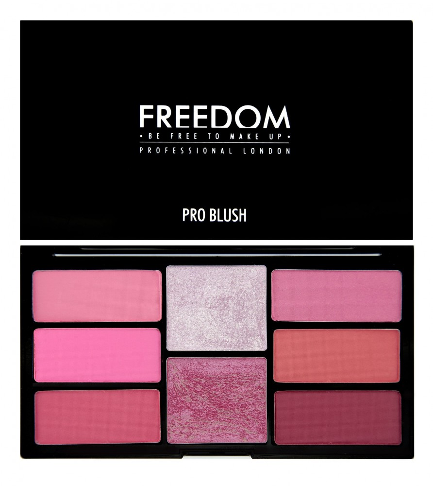 Freedom Makeup палитра руж - Pro Blush Palette  - Pink and Baked
