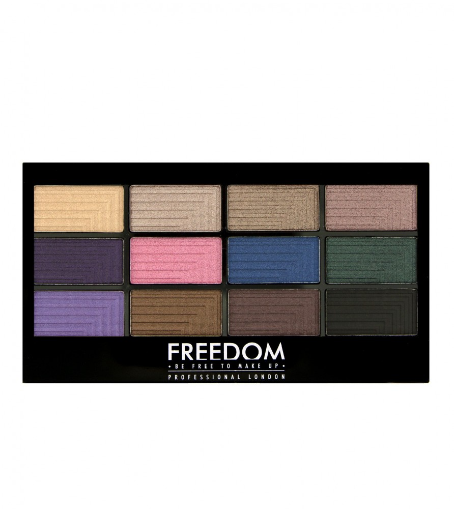 Freedom Makeup paleta 12 sjenila - Pro 12 Dreamcatcher